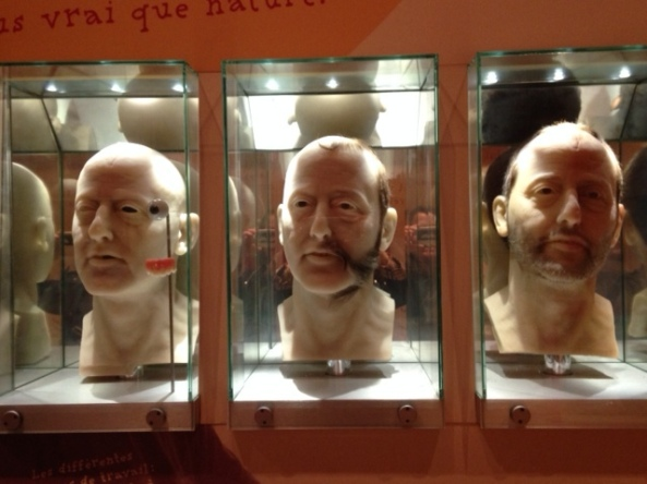 process of making a wax figure