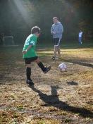 First soccer goal Sawyer